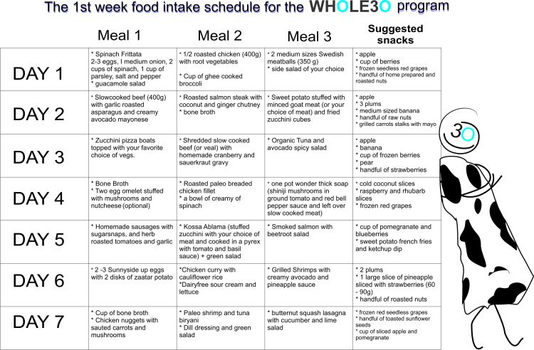 diet whole30-english
